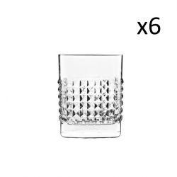 Set van 6 Lage Glazen Elixir