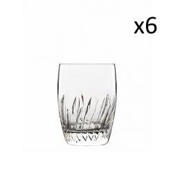 Set van 6 Lage Glazen Incanto