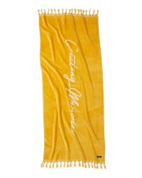 Beach Towel Creating Memories | Yellow