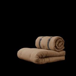 Stuhlschnalle | Mocca mit braunem Gürtel