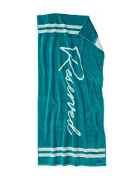 Beach Towel Creating Reserved | Turquoise