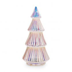 LED Lighted Christmas Tree   Silver