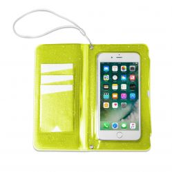 Splash Wallet / Phone Holder | Yellow