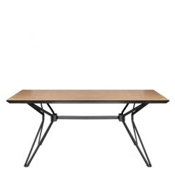 Table Milano | Noir & Noyer