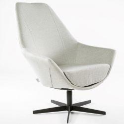 Turning Armchair Ravenna | Grey