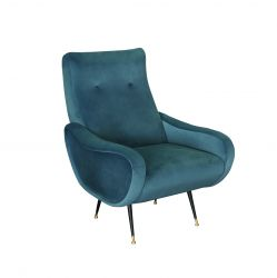 Fauteuil Matera | Turquoise