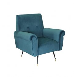 Armchair Messina | Turquoise