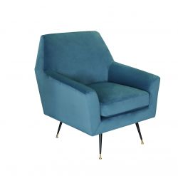 1 Seater Sofa Marsala | Blue