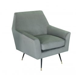 1 Seater Sofa Marsala | Light Grey
