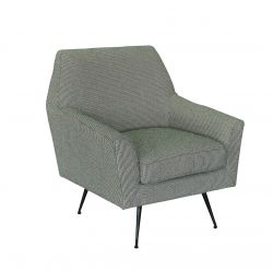 1 Seater Sofa Marsala | Dots Grey