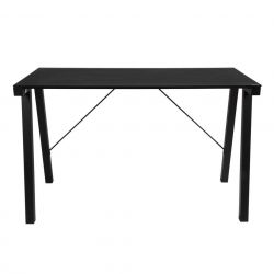 Glass Desk Cycloon | Black