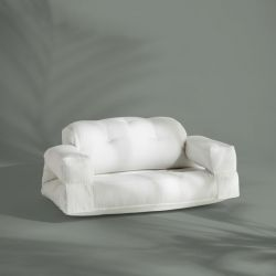 2-Seater Sofa Buckle Up OUT | White
