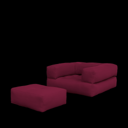 Sofa Bed Cube | Bordeaux