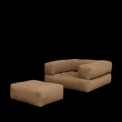 Sofa Bed Cube | Mokka