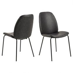 Chair Mita | Set of 2 | Black