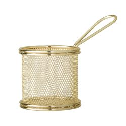 Serving Basket | Stainless Steel | Gold
