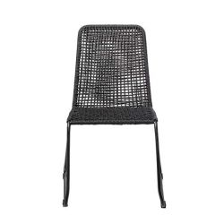 Outdoor Dining Chair Mundo | Black