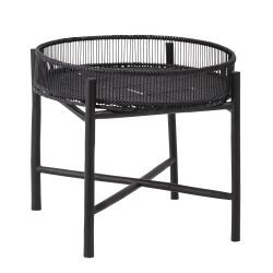 Table d'appoint Carolina | Bambou | Noir