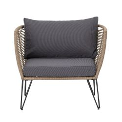 Outdoor Lounge Chair Mundo | Brown