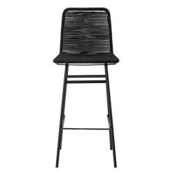Outdoor Bar Stool Mundo | Black
