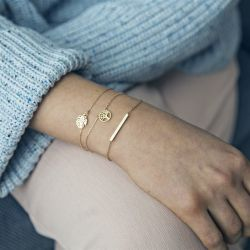 Bracelet Set of 3 | Gold
