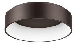 Ceiling lamp Rando H 11 cm Ø 45 cm | Brown