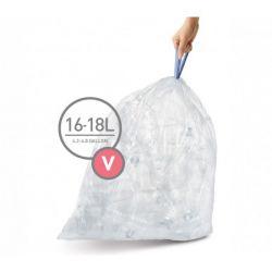 Waste Bag Code V | 16-18 L | 20 Pieces