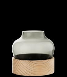 Niedrige Vase