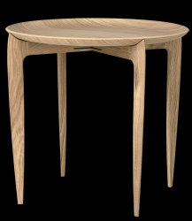 Foldable Tray Table | Oak Veneer