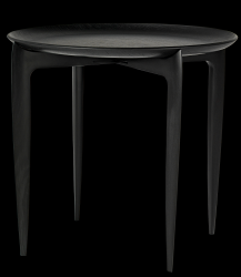 Foldable Tray Table | Black