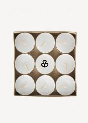Set of 9 Tea Light Candles