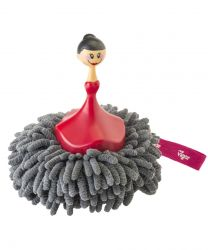 Microfibre Sponge & Duster Dolls | Grey