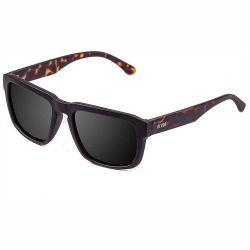 Sonnenbrille Unisex Bidart | Schwarzes Gestell, Rauchglas