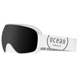Snow Goggles Unisex K2 | White Frame, Smoke Lens