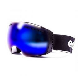 Snow Goggles Aconcagua Unisex | Matte Black Frame, Blue Lens