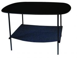 Layer Side Table Black
