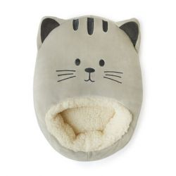 Foot Warmer Kitty | Grey