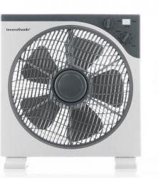 Bodenventilator 50 W | Weiß & Grau