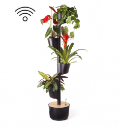 Smart Self-Watering Vertical Planter | Black