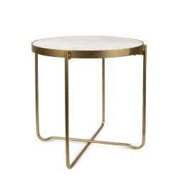Table d'Appoint Elegant | Blanc