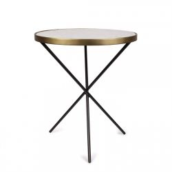Side Table Bistro | White