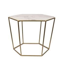 Table d'Appoint Chic | Blanc