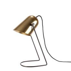 Tischlampe Ablaze | Messing