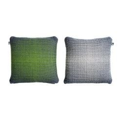 2 Side Gradient Cushion Cover | Green