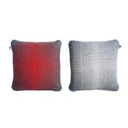 2 Side Gradient Cushion Cover | Red