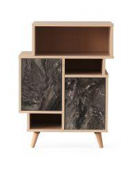 Bookshelf Izmir | Grey