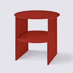Table d'Appoint Passage | Rouge