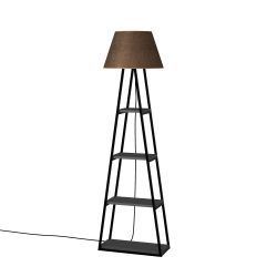 Floor Lamp Pal | Anthracite & Brown