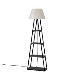 Floor Lamp Pal | Anthracite & Linen