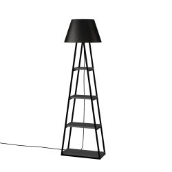 Floor Lamp Pal | Anthracite & Black
